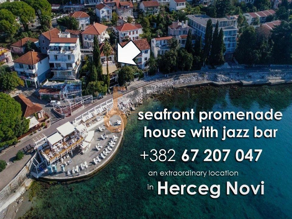 Razrađeni biznis na prodaju, Jazz bar i kuća na šetalištu, Herceg Novi - 2