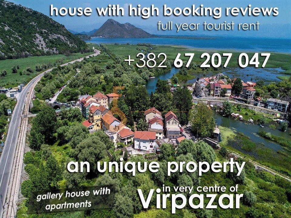 Virpazar, razrađeni biznis na prodaju kuća sa apartmanima - 1