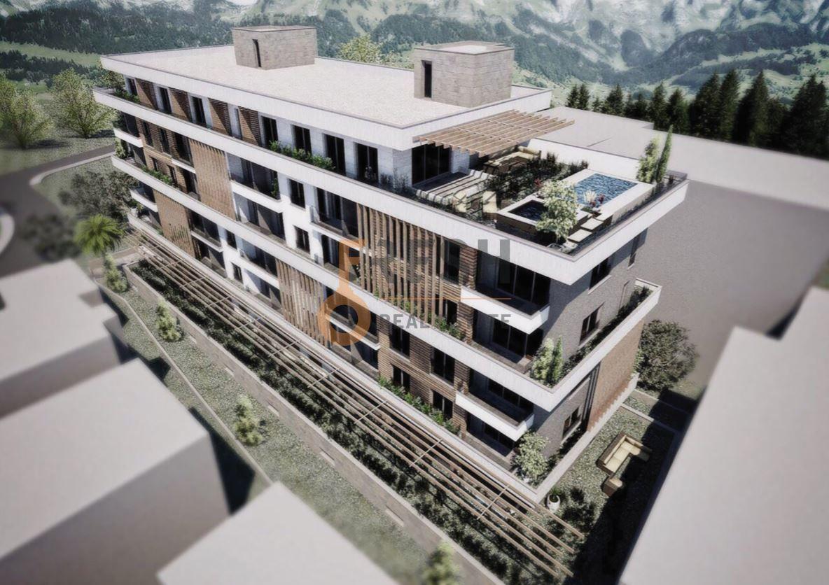 Trosoban stan, 103m2 + 50m2 terase, Bečići, Prodaja - 1