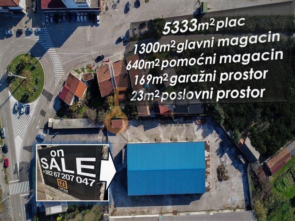 Urbanizovano građevinsko zemljište 5333m2, Bar - 1