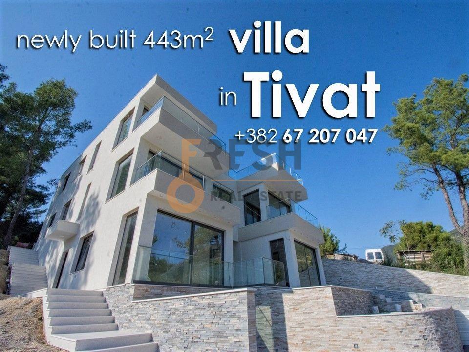Nova vila 443m2, Tivat - 1