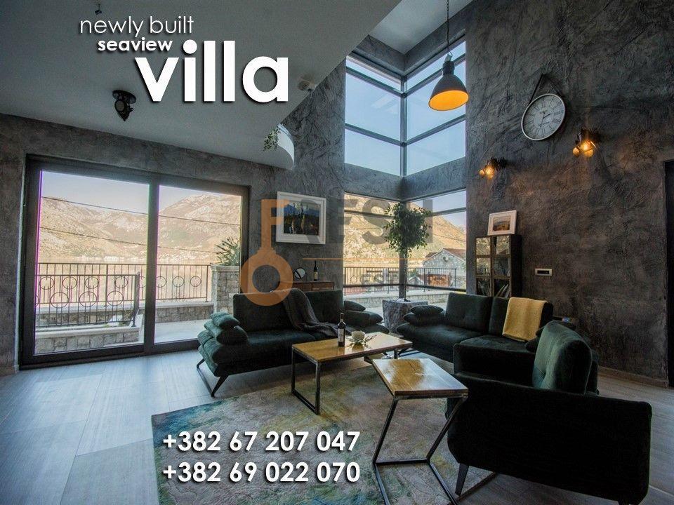 Vila sa pogledom na Perast, 300m2, Kostanjica, Kotor, prodaja - 1