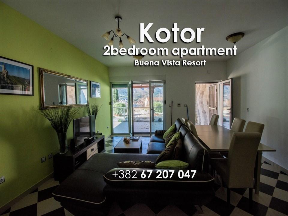 Dvosoban stan Buena Vista, 75m2, Dobrota, Prodaja - 2