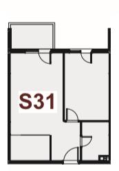 Jednosoban stan, 41.75m2, Stari Aerodrom, Prodaja - 2