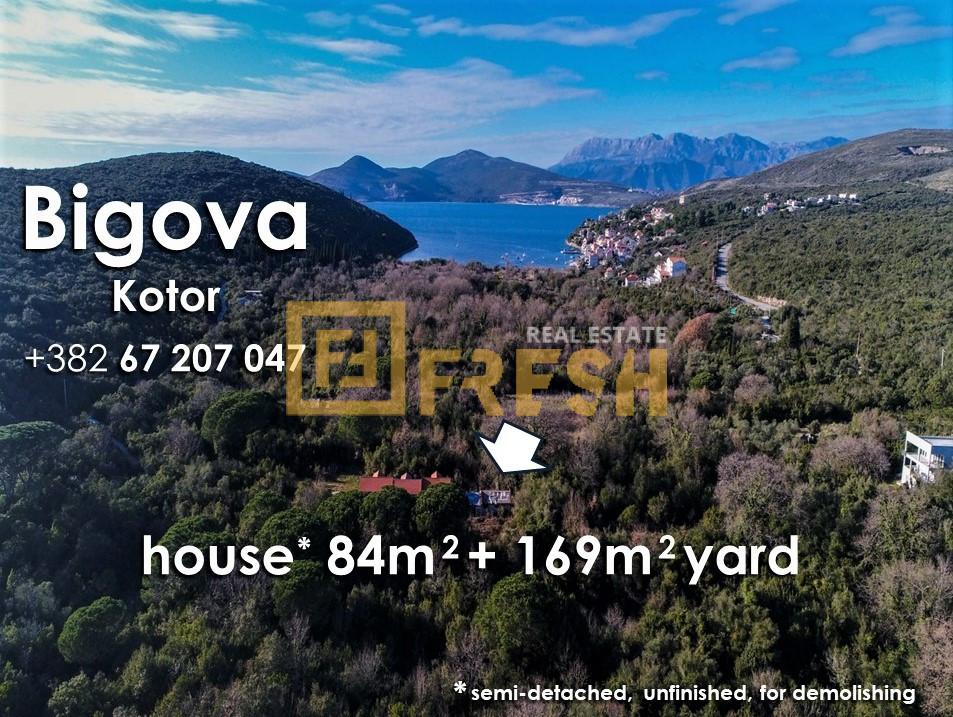 Ruševna kuća i plac, Bigova, Kotor, Prodaja - 9