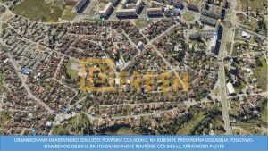 Urbanizovano građevinsko zemljište, površine cca 600m2, Stari Aerodrom 1