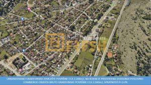 Urbanizovano građevinsko zemljište, 2200m2, Masline, Prodaja - 1