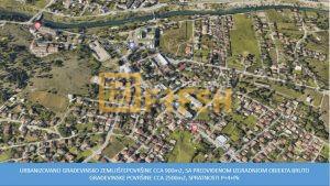 Urbanizovano građevinsko zemljište, 900m2, Zagorič, Prodaja - 1