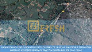 Urbanizovano građevinsko zemljište, 17.000m2, Danilovgrad, Prodaja - 1