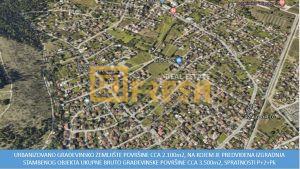 Urbanizovano građevinsko zemljište, 2.133m2, Zagorič, Prodaja - 1