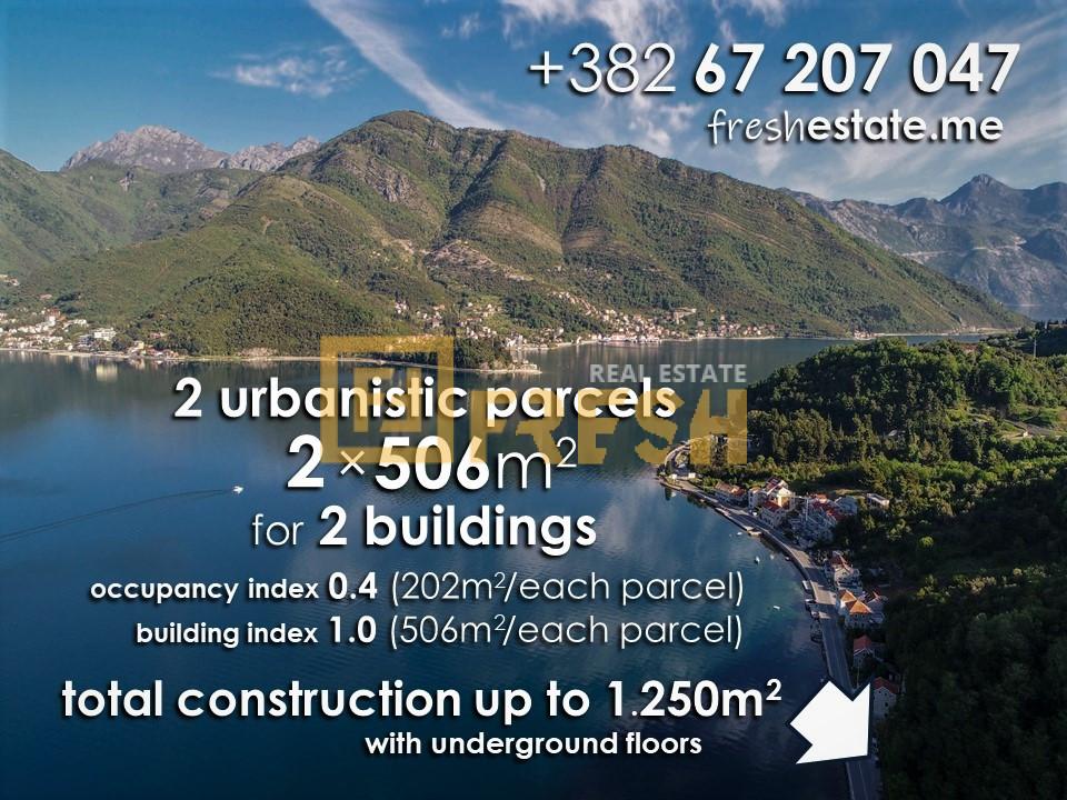 Urbanizovano građevinsko zemljište, 11.369m2, Tivat, Prodaja - 3