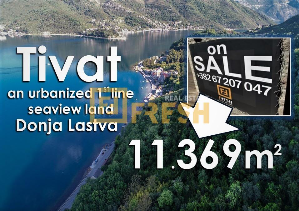 Urbanizovano građevinsko zemljište, 11.369m2, Tivat, Prodaja - 5