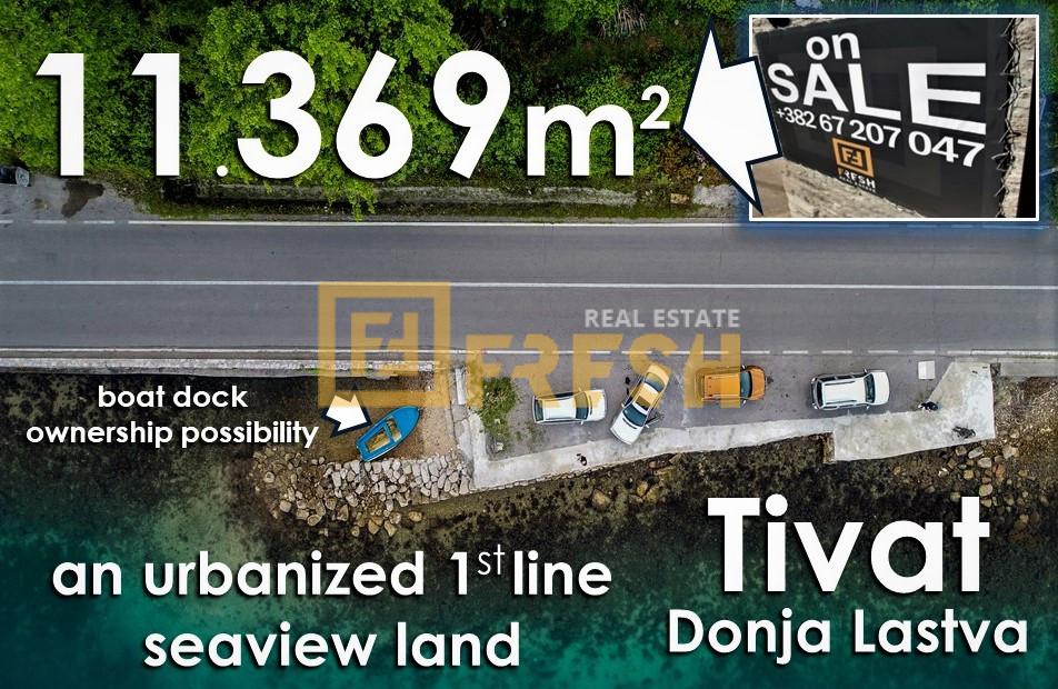 Urbanizovano građevinsko zemljište, 11.369m2, Tivat, Prodaja - 6