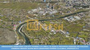 Urbanizovano građevinsko zemljište površine cca 5.000m2, Zabjelo - 1