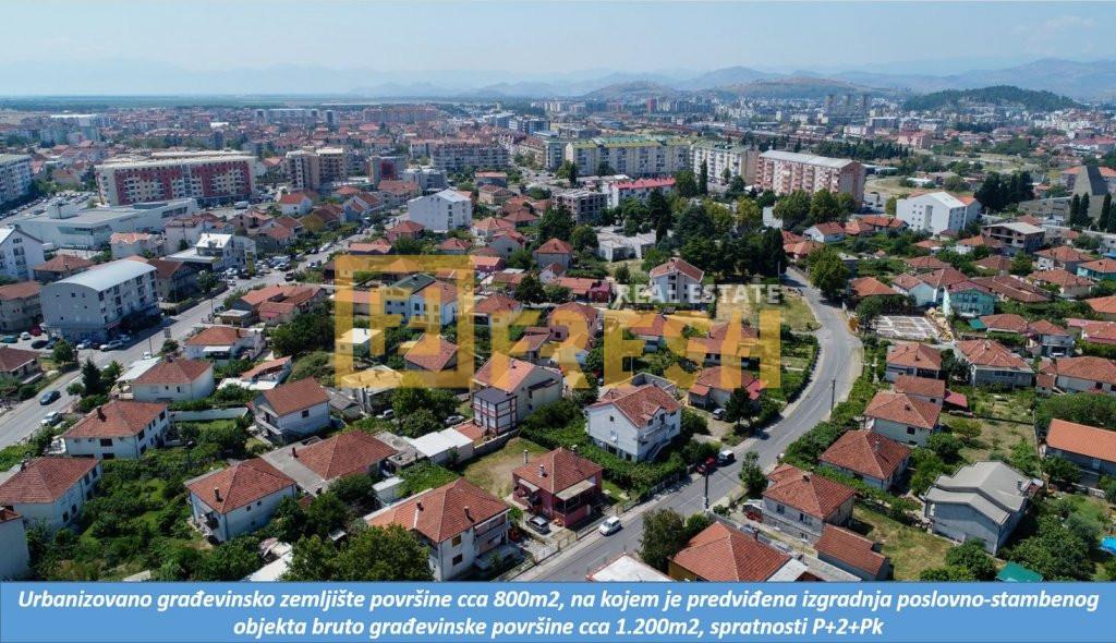 Urbanizovano građevinsko zemljište, cca 800m2, Konik, Prodaja 1