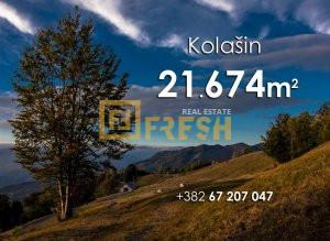Plac 21674m2, Kolašin - 1