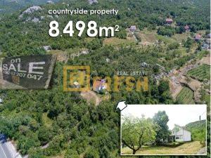 Imanje 8.498m2 kuća 300m2, Meterizi - 1