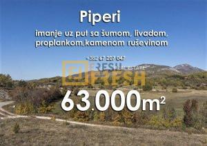 63000m2 imanje, Piperi - 1