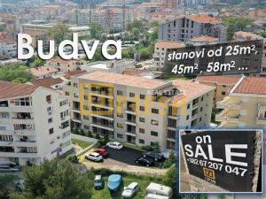 Garsonjera, 25m2, Budva, Prodaja - 1