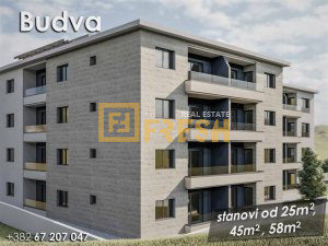 Dvosoban stan, 53m2, Budva, Prodaja - 1