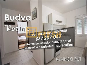 Jednosoban stan, 58m2, Budva - 1