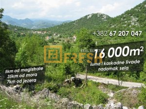 16000m2, Začir, Cetinje - 1