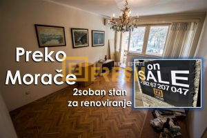 Dvosoban Preko Morače - 1