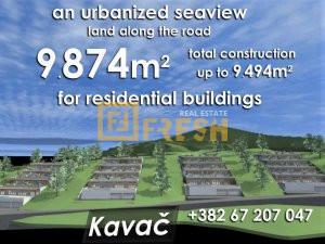 Urbanizovano zemljište, 9874m2, Kavač-Kotor, Prodaja - 1