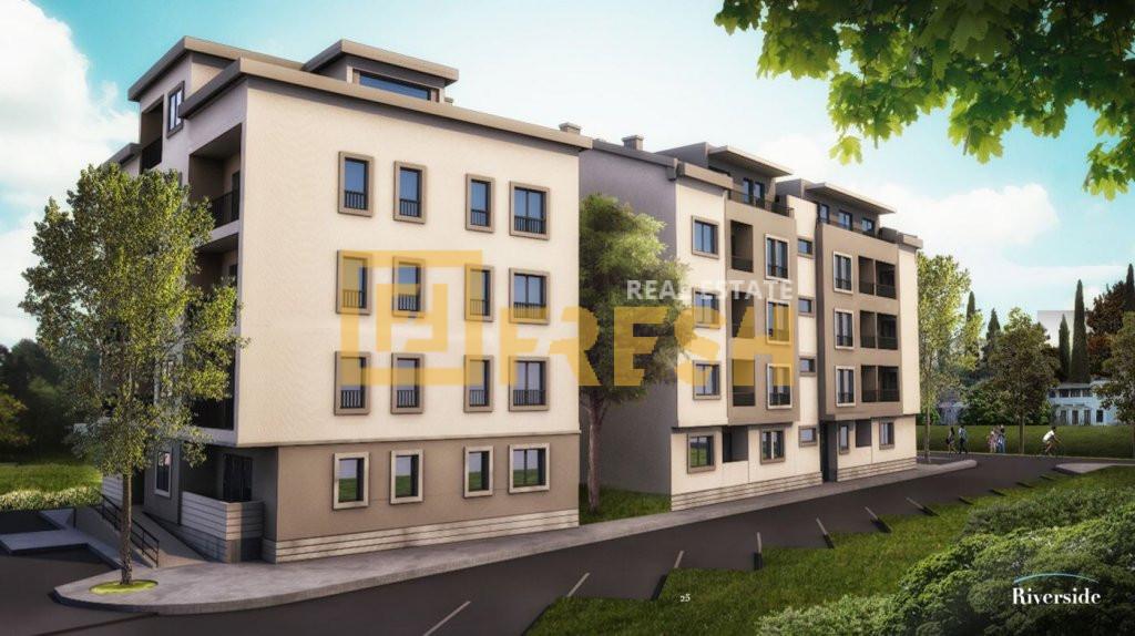 Dvosoban stan, 58.47m2, Riverside, Prodaja 1