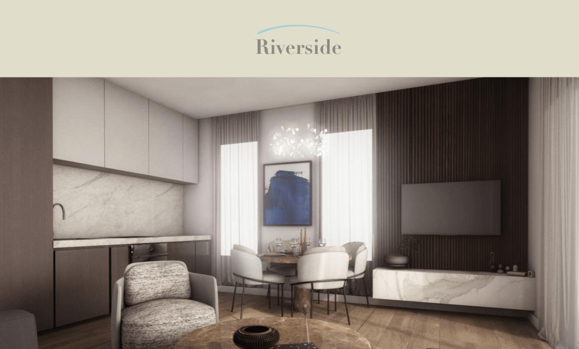 Primjer izgleda dnevne sobe u Riverside stanu