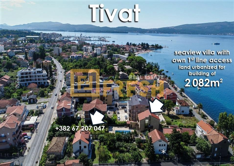 Vila - zemljište za zgradu, Lastva, Tivat 1
