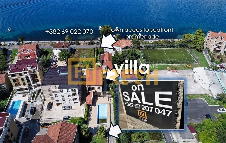 Vila - zemljište za zgradu, Lastva, Tivat - 0