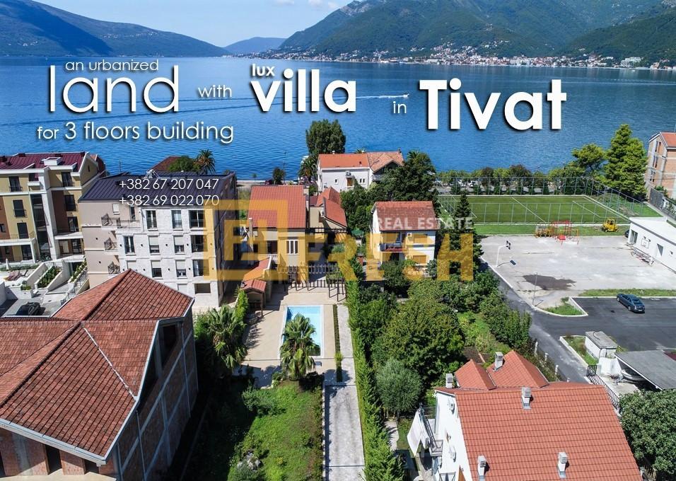 Vila - zemljište za zgradu, Lastva, Tivat - 1