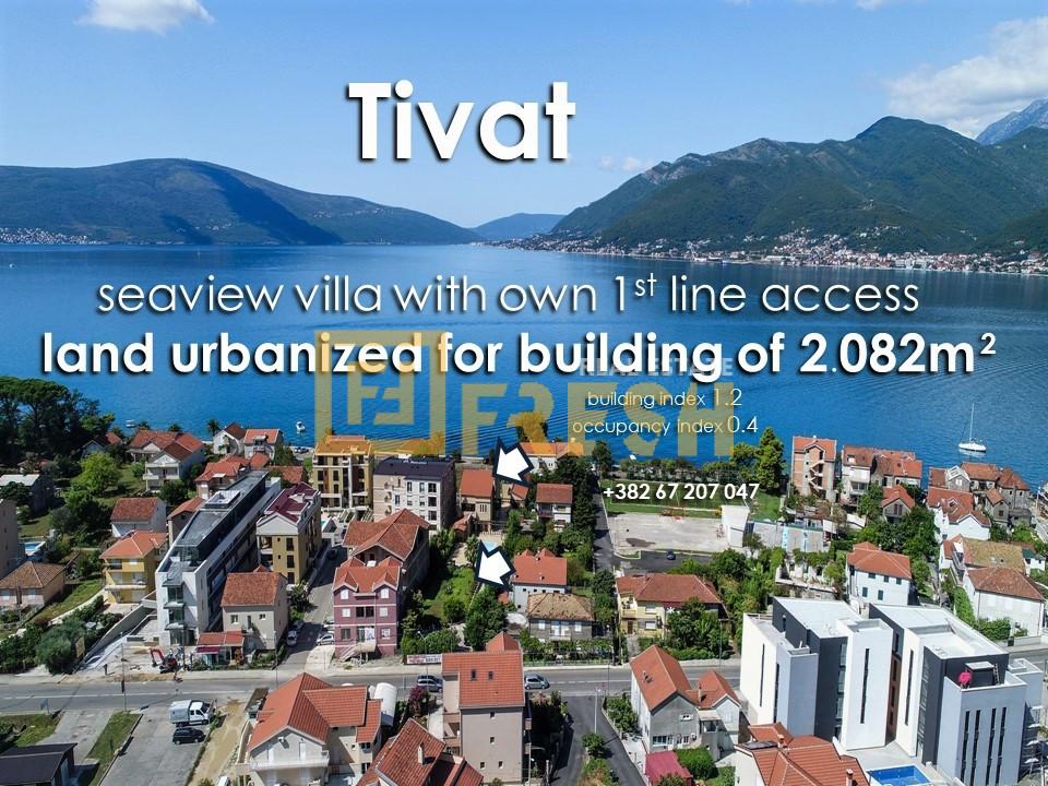 Vila - zemljište za zgradu, Lastva, Tivat - 2