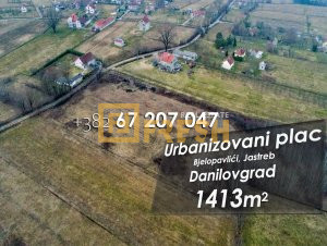 Urbanizovani plac 1413m2 - 1