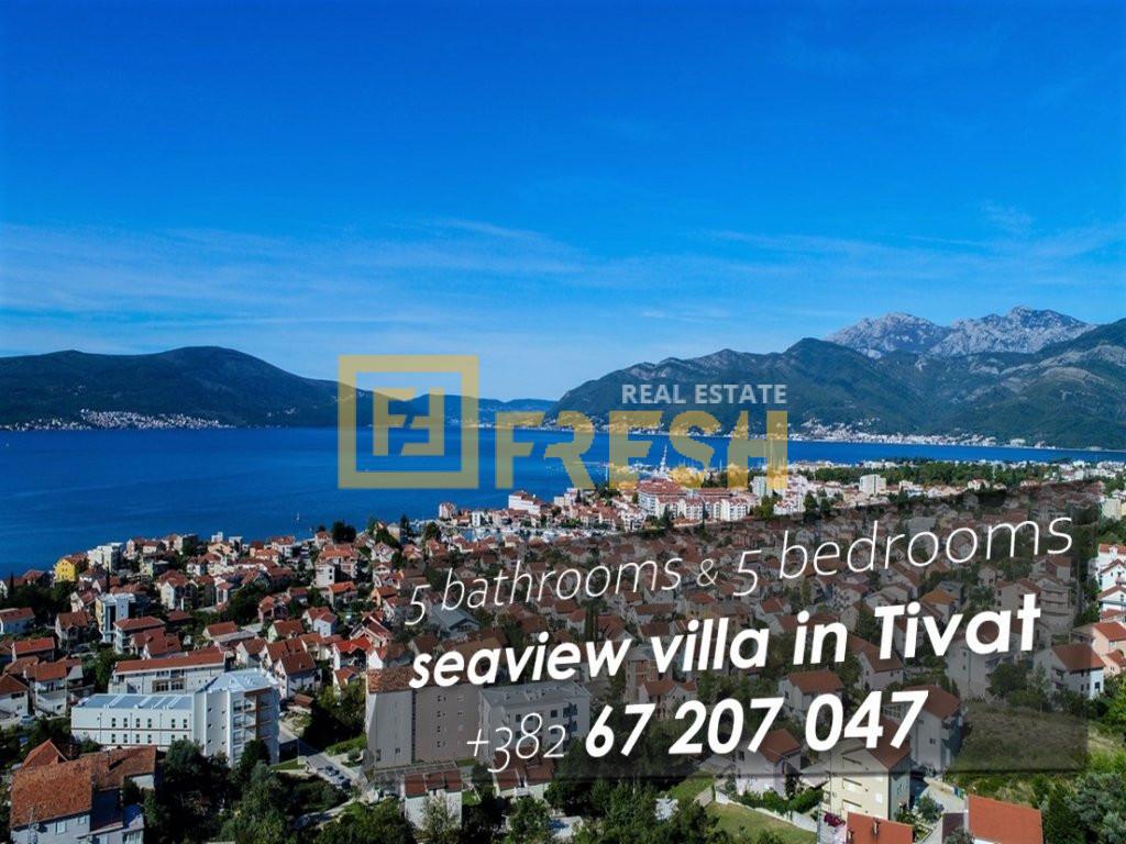 Vila sa 5 soba i 5 kupatila, Tivat - 0