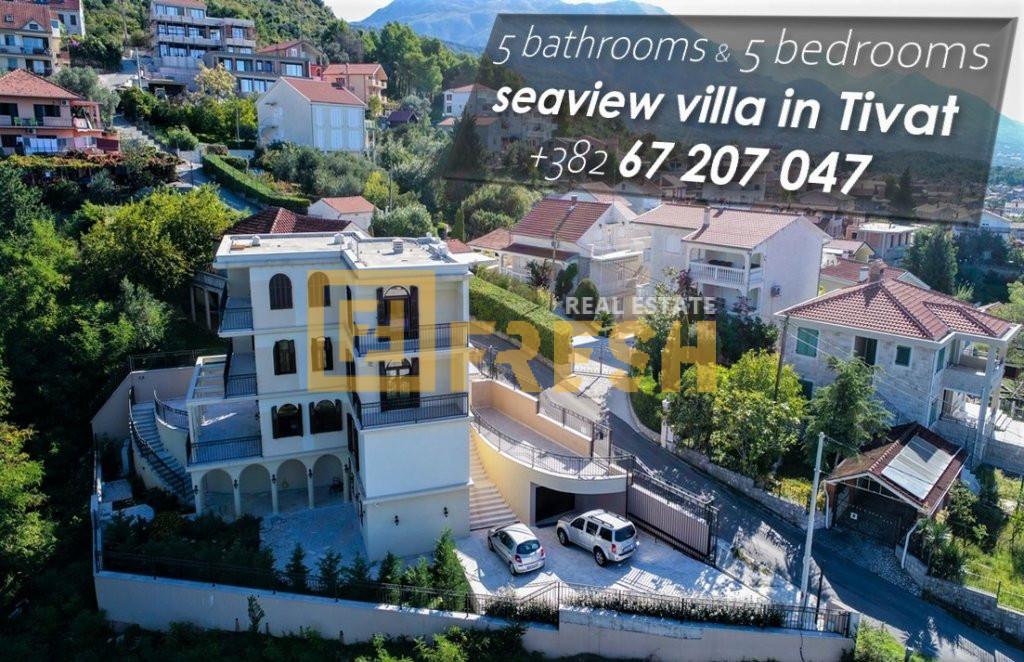 Vila sa 5 soba i 5 kupatila, Tivat - 2