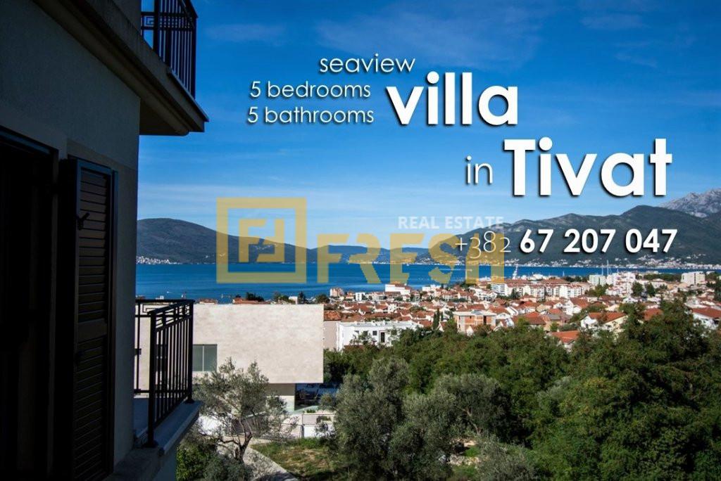 Vila sa 5 soba i 5 kupatila, Tivat - 3
