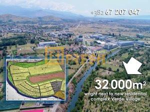 Urbanizovano građevinsko zemljište, 32000m2 blizu ''Verde'' kompleksa - 1