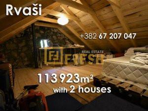 113923m2 sa tri kuće, Rvaši - 1