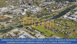 Urbanizovano gradjevinsko zemljište, cca 1.700m2, Zabjelo, Prodaja - 1
