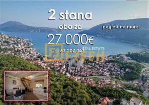 2 stana za 27000€ pogled na more ! - 1