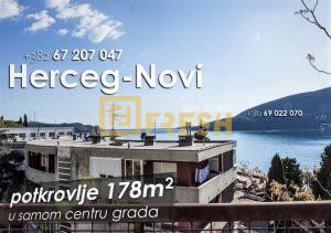 Potkrovlje 178m2, Njegoševa, Herceg-Novi - 1
