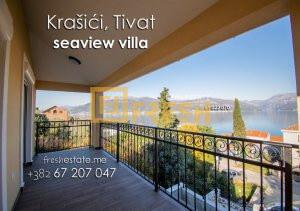 Nova kuća s pogledom na more, Krašići, Tivat - 1