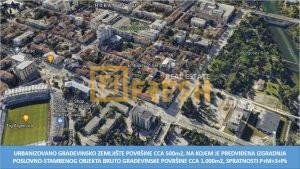 Urbanizovano građevinsko zemljište, cca 500m2, Centar, Prodaja - 1