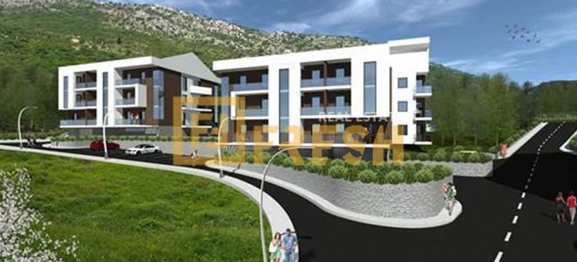 Jednosoban stan, 50m2, Tivat, Prodaja - 1