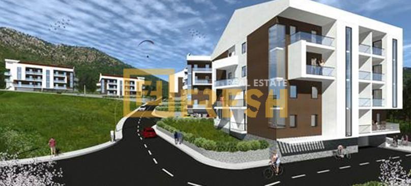 Jednosoban stan, 50m2, Tivat, Prodaja 1