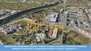 Urbanizovano građevinsko zemljište, cca 600m2, City kvart, Prodaja - 1
