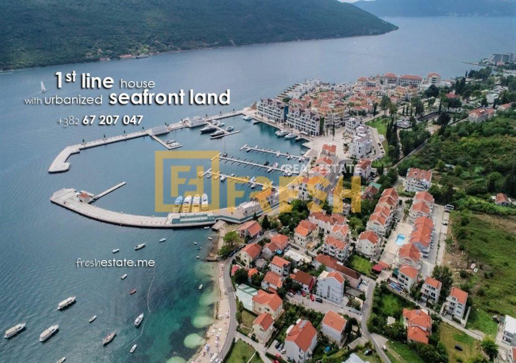 Prva linija od mora, 465m2, Đenovići & Porto Novi 1