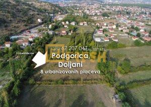 Urbanizovani placevi, 6072m2, Podgorica, Masline - 1